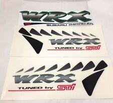 JDM WRX STi trunk & side decal sticker gc8 zerosports s201 type RA impreza