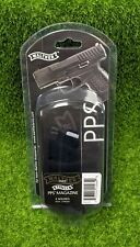 Walther PPS 9mm Luger 6 Round OEM Steel Magazine, Black - 2796562