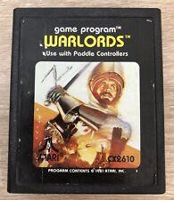 Warlords - ( Atari 2600 ) Game Only !
