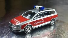 * Wiking 06011333 VW Passat Variant (Fire Service) Feuerwehr 1:87 HO Scale