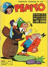 PEPITO 242 SAGE 1964 (AVEC RARE PHOTO DE KIKI CARON)
