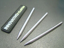 """3 1/2"""" Stainless Steel 550 Paracord Lacing Stitching Needles MADE IN THE USA (3)"""