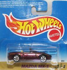 HotWheels mint 1996 Mazda MX5 with stripes MINT