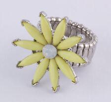Modeschmuck-Ringe aus Metall-Legierung mit Strass-Perlen