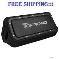 Speaker Portable Bluetooth Stereo Wireless Waterproof Rechargeable TOPROAD 10W