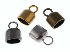 20Pcs DIY Craft Jewelry Makings End Cap Bead Fit 10*6mm Leather Cord