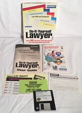"DO-IT-YOURSELF LAWYER 3.5"" Disk Windows 3.1 Expert Software Boxed W/ Manual"