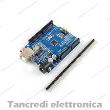 Arduino Uno R3 Rev3 con barra pin ATmega328P CH340 compatibile clone Rev 3 USB