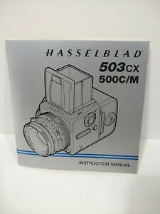 Hasselblad instruction book manual for 500cm 503cx