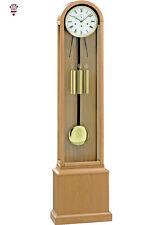 BilliB Grasmore Contemporary Domed Grandmother Clock, Westminster Chime in Oak