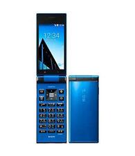 KYOCERA 501KC DIGNO KEITAI TOUGH ANDROID 5.1 FLIP PHONE BLUE UNLOCKED NEW 502KC