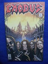 ~ Hard To Find! ~ Exodus #4 ~ Rock And Roll Biogrphies ~2015 ~
