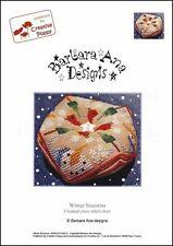 Barbara Ana Designs Counted X-stitch Chart - Winter Biscornu