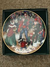 New ListingFitz & Floyd Collector's Series 1993 Limited Number Holiday Plate 574 Of 5000