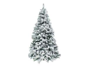XONE Albero di Natale Kettinson Slim innevato e folto