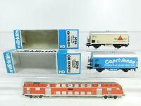 AZ219-0, 5 #2x Märklin H0/AC Freight Car DB : 4425+ 4426 Apollinaris, Very + Box
