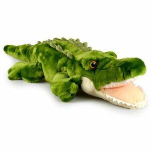 Korimco 75cm Snappy Crocodile Kids Animal Soft Plush Stuffed Toy Green 3y+
