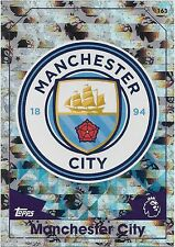 2016 / 2017 EPL Match Attax Base Card (163) MANCHESTER CITY Logo