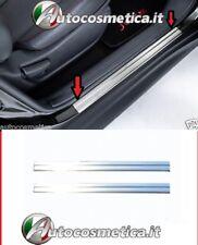 Battitacco Nissan Juke Acciaio Inossidabile Satinato protezione soglia entrata:>