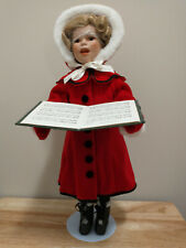 Little Caroler Shirley Temple Christmas Doll Collection 1995 Danbury Mint