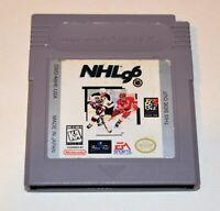 NHL HOCKEY 96 NINTENDO ORIGINAL GAMEBOY GB GAME