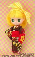 Takara Tomy CWC 11cm Petite Blythe Doll Spring Chocolate designed by  Mamechiyo 0f02df3c4