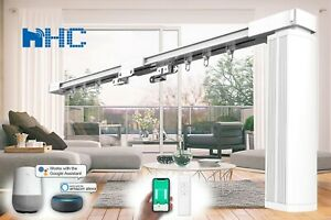 HC-SMART-HOME DIY Smart Curtain Track, Electric Curtain Rail & Remote (UP TO 7M)