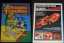 ***ALMANACCO TOPOLINO*** N.192 (DICEMBRE 1972)