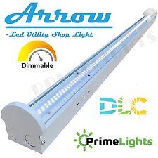 4FT LED Flushmount Shop Commercial Office Ceiling Light 5500 Lumens 5000K LIGHT