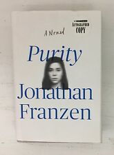 Purity: A Novel by Jonathan Franzen SIGNED/AUTOGRAPHED Hardcover w/Dust Jacket