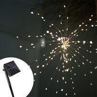 Firework LED Copper Wire Strip String Light Xmas Wedding Decor LED Fairy Lights