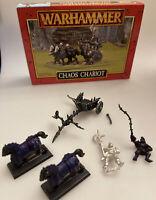 Warhammer Chaos Chariot - Metal Games Workshop Model / Citadel