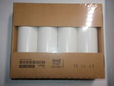 """3 7/8"""" White Steel Bed Risers Legs 502.996.96 New Box"""