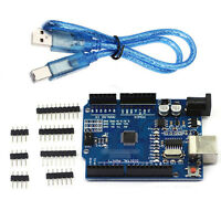 New ATmega328P CH340G UNO R3 Development Board & Free USB Cable for Arduino AAA
