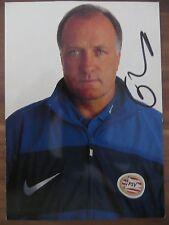 Handsignierte AK Autogrammkarte *DICK ADVOCAAT* PSV Eindhoven 1996/1997/1998