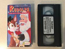Rudolph The Red Nosed Reindeer (VHS, 1993) Kids Klassics GoodTimes Video
