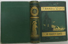 JULES VERNE Around the World in Eighty Days FIRST ILLUSTRATED EDITION