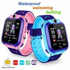 Q12 Reloj de los niños SOS Teléfono Inteligente IP67 monitoreo inteligente Reloj GPS