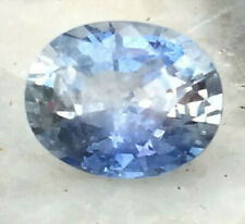 More details for 2 carat natural sri lanka sapphire gemstone light blue and clear stunning