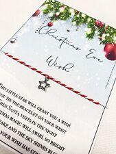 Christmas Eve Wish Bracelet Gift Christmas Eve Box Filler Stocking Filler