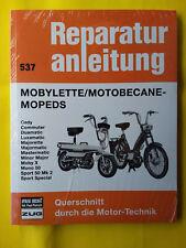 Mobylette  Motobecane - Mopeds  Reparaturanleitung Handbuch