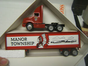 Winross Manor Township Lancaster County Road Crew 1992 Truck Rare MIB 1/64