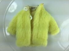 EUC Yellow Fur Coat #1513 Young Ideas Vintage Skipper Sears Exclusive 1970-3