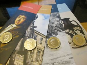 2019 Royal Mint Coins 12 or 8 Pack boxed and single packed £5 £2 & 50p Pepys ect