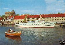 """AK, Christianso, Dänemark, Havnen og Store Tran, MS """"Ertholm"""", um 1990"""