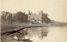 Albumen Print Linlithgow Palace & Loch 1870s James Valentine Photograph