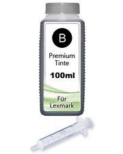 100ml NACHFÜLL TINTE für LEXMARK 32+34 für P6250 P910 P915 P4310 P4330 P4350