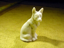 dog animal age 1890 excavated in Limbach Fève ancienne porcelaine Art. 6940