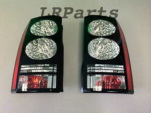 GENUINE 2014 LAND ROVER BLACK LR4 LED REAR TAILLIGHT KIT LR052396 LR052398 NEW