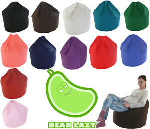 Bean Lazy Extra Large Adult / Teens Size Bean Bag With Beans 100% Cotton!